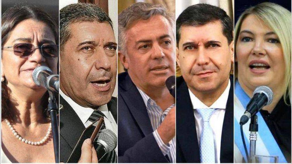 Cinco gobernadores irán por una banca en el Congreso
