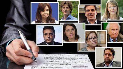 Empezó la campaña para las PASO: Macri y Cristina preservaron los lugares clave en las listas
