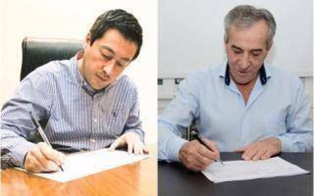 Malvinas Argentinas: Nardini y Cariglino confirmaron sus candidaturas a intendente