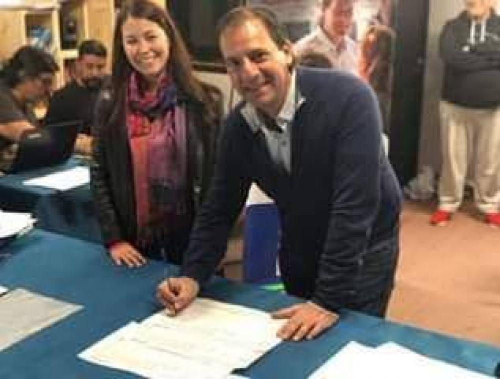 Sujarchuk anunció la lista con la que competirá por un nuevo mandato en Escobar