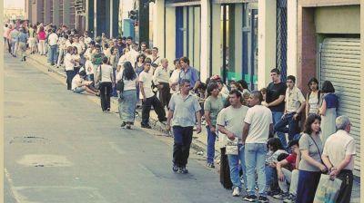 Casi la mitad de los trabajadores en Argentina tiene empleo informal