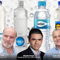 Tres grandes fortunas detrás del negocio del agua embotellada