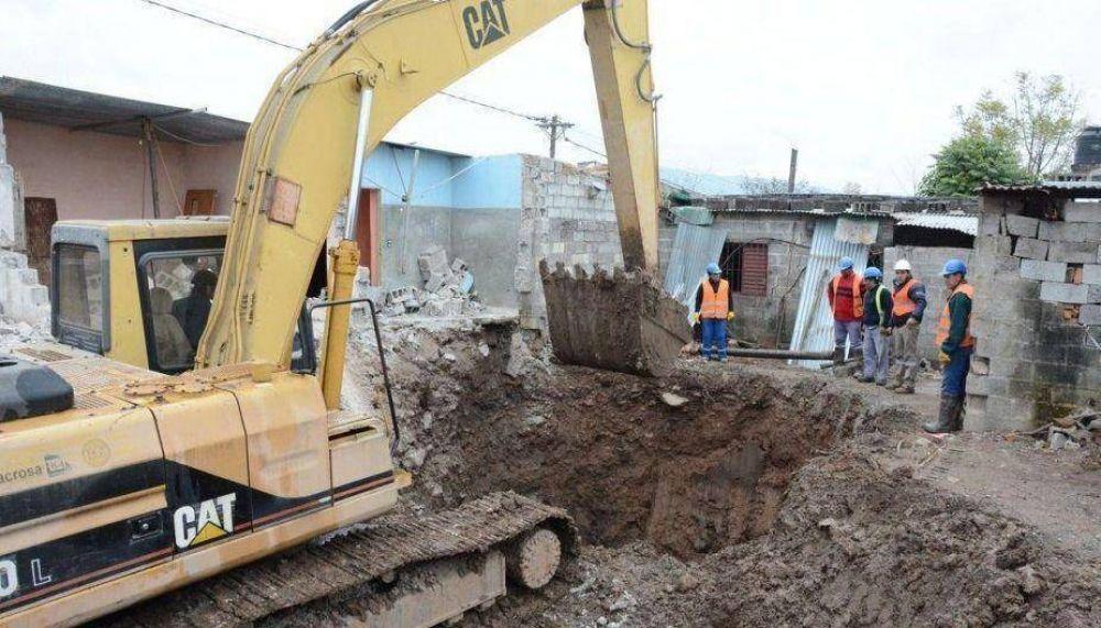 Por reparar un acueducto, tendrán que desalojar y demoler varias casas en capital