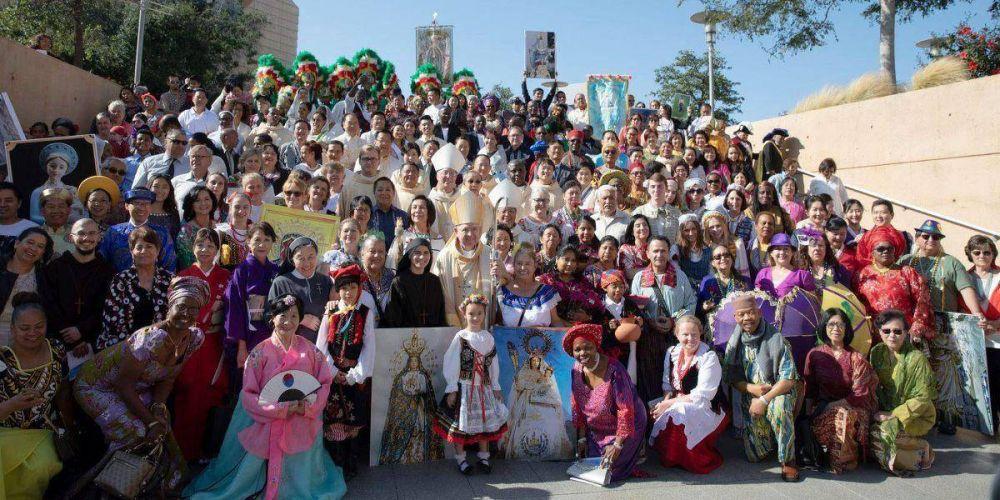 La Iglesia multicolor