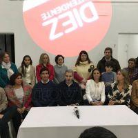 Gonzalo Diez presentó la lista de precandidatos y nuevo local partidario