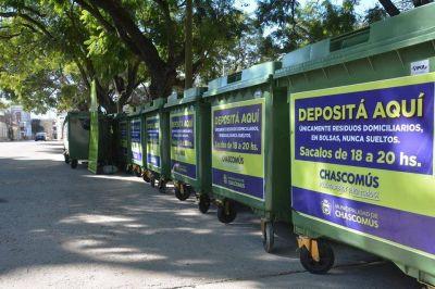 """Gastón: """"Sumaremos 100 nuevos contenedores para que la ciudad se vea más limpia y ciudada"""""""