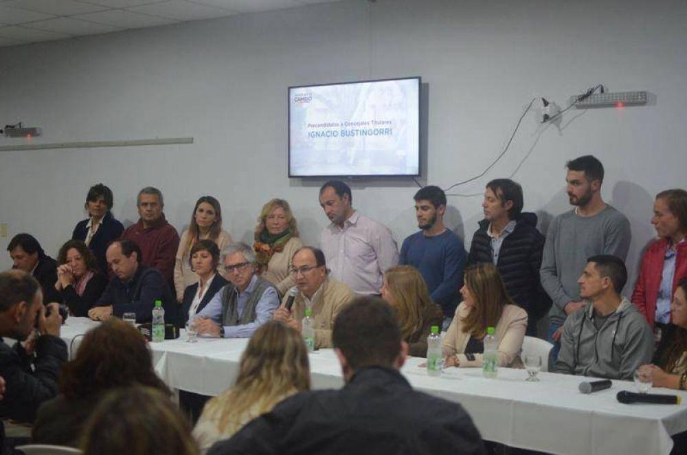 Juntos por el Cambio presentó oficialmente su lista de precandidatos saladillenses