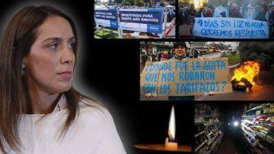 De apagón a crisis política: Vidal encendió las alarmas para evitar que Edelap empañe su campaña