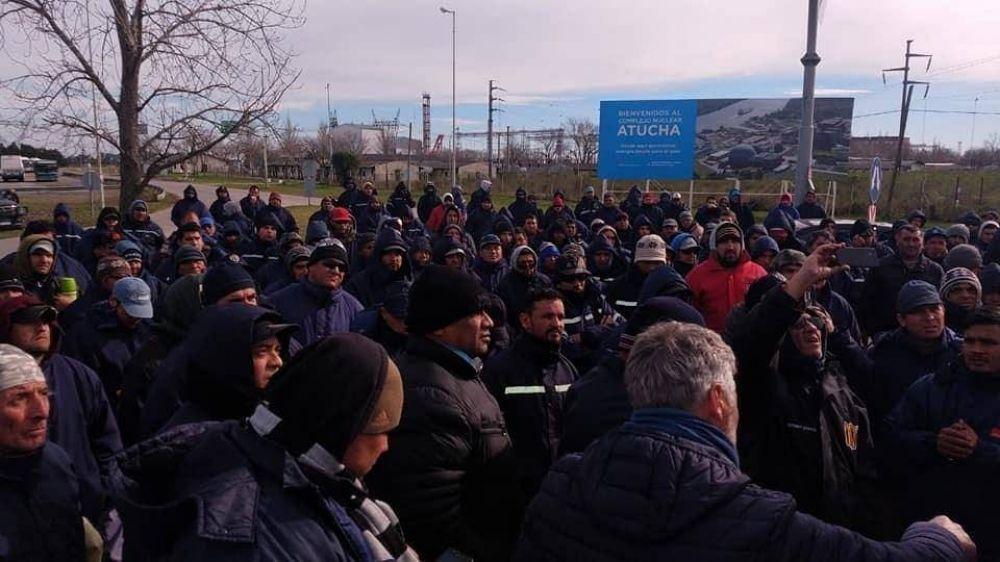 Dictan la conciliación obligatoria por los 130 despidos en central nuclear de Zárate