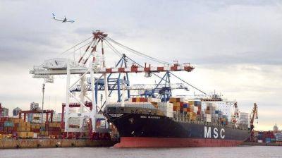 Malestar en el sector marítimo por una frase de Alberto Fernández sobre el puerto de Buenos Aires