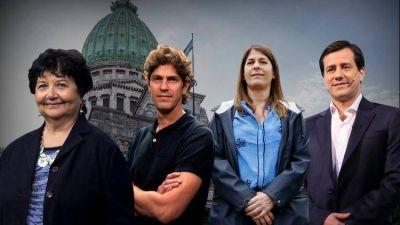 Perfiles de los candidatos a senadores que competirán por las tres bancas por la ciudad de Buenos Aires