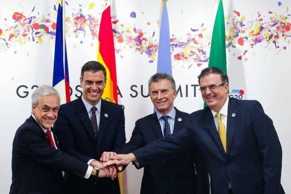 Apoyo por la economía y dudas sobre las elecciones, en el primer día para Macri