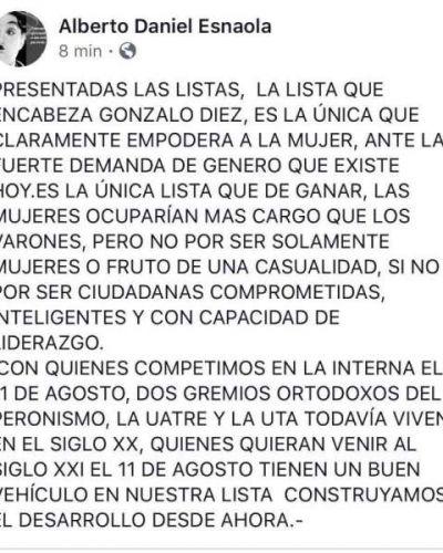 Esnaola: