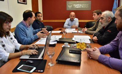 Sastre encabezó reunión del GIRSU en Madryn