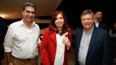 Llegó Cristina Kirchner a Chaco y fue recibida por Domingo Peppo y Jorge Capitanich