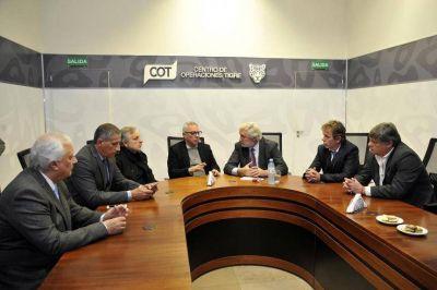 Zamora y Conte Grand avanzaron en cooperación y tecnología de la justicia