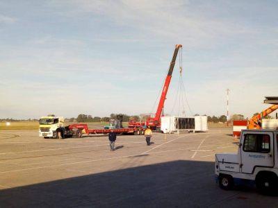 En menos de un mes finalizarán las obras en el aeropuerto Piazzolla