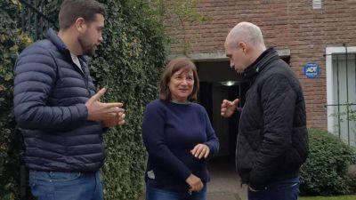 Larreta bajó al Conurbano para apoyar un candidato del