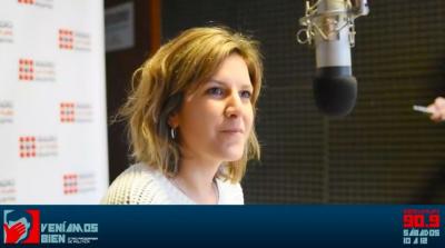 """Florencia Espinosa: """"trabajamos para terminar con la estafa electoral que significó este Gobierno"""""""