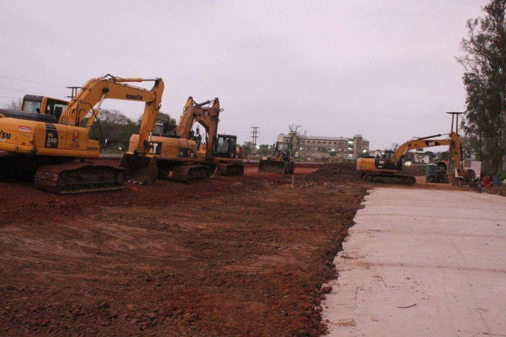 Autovía: con leves ajustes en el proyecto, pero no en los cruces de rutas, avanzan las obras