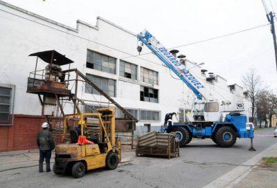 El Municipio monitorea el desguace de Metalúrgica con vistas a declarar el predio como Zona Especial
