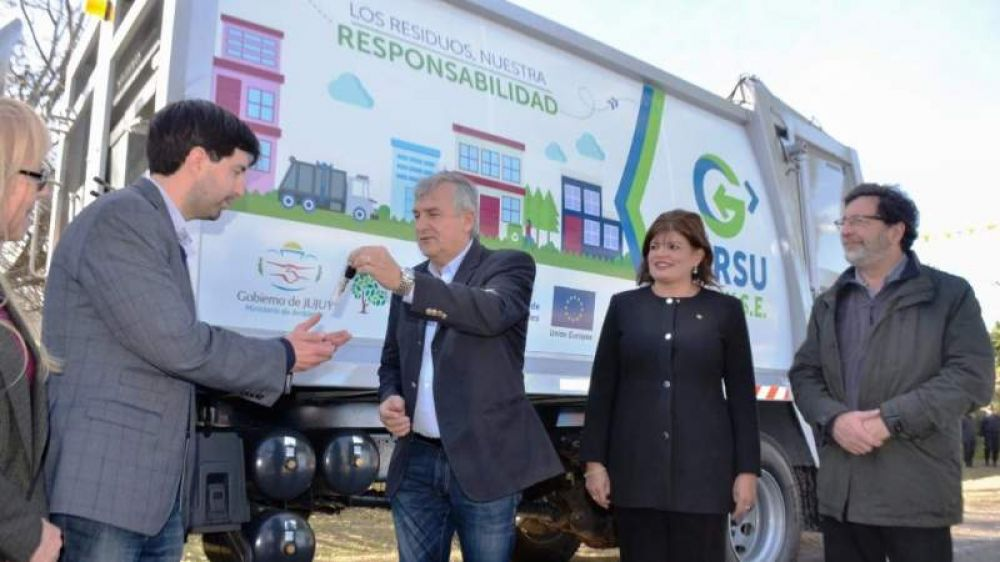 Yala recibió el primer camión del GIRSU