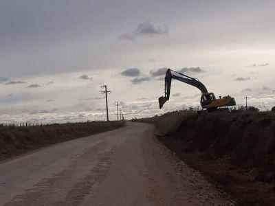 Necochea y Benito Juárez comienzan gestiones en conjunto para solicitar la obra de asfalto de la Ruta 80