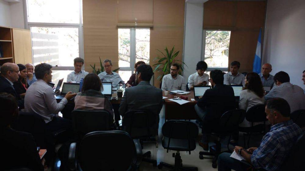 Realizan diagnóstico del Plan de Gestión y sobre obras hídricas de saneamiento