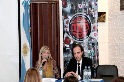 El sindicato hielero organizó una jornada sobre violencia laboral, apoyado por la UITA