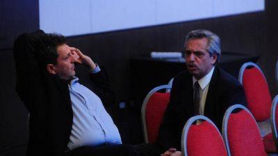 Alberto Fernández aúna agenda con Massa y toma distancia de Cristina
