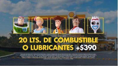 Con gran éxito se desarrolla la promo de Raízen en las estaciones Shell con los personajes de Toy Story 4