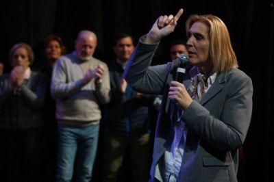 Vilma Baragiola lanzó su lista para aspirar a la intendencia
