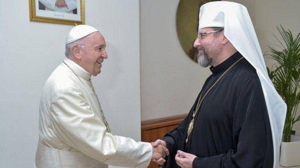La Iglesia greco-católica ucraniana encuentra al Papa en el Vaticano