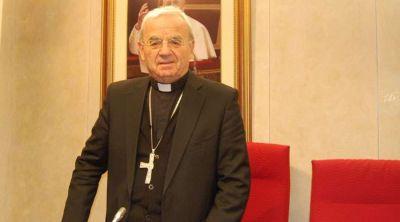 Papa Francisco acepta renuncia de Nuncio en España, Mons. Fratini