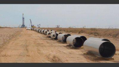 Licitarán un gasoducto clave para la producción de gas en Vaca Muerta