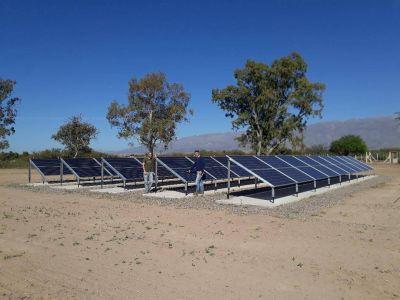 Construyen un segundo parque Solar en finca de Pocito