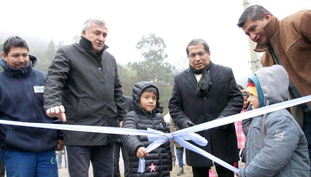 Inauguran una planta potabilizadora en Termas de Reyes