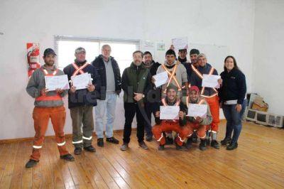 Recolectores de residuos realizaron un intensivo curso sobre GIRSU