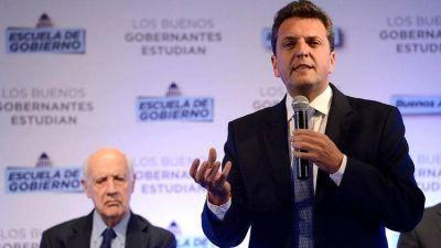 Massa teje en secreto un acuerdo político con Lavagna y Monzó para diciembre