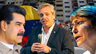 El pantano al que entra Alberto Fernández cuando habla sobre Venezuela