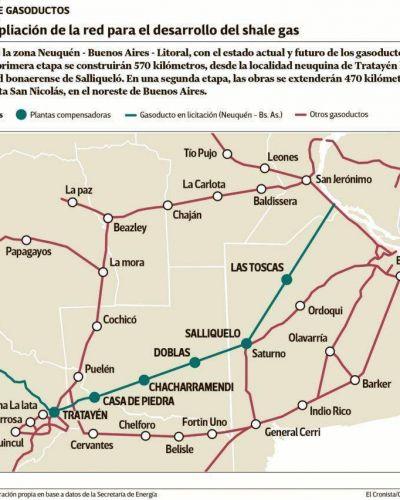 Vaca Muerta: con DNU para nuevo gasoducto, buscan ahorro de u$s 240 millones