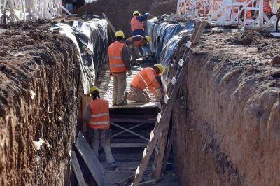 El Municipio avanza con una importante obra hidráulica en el Cementerio que permitirá mejorar la red de desagües