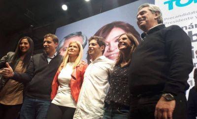 Frente de Todos cerró su primer acto en Mar del Plata: