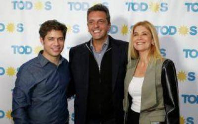 Elecciones 2019: Alberto Fernández, Kicillof y Massa juntos por primera vez en la campaña