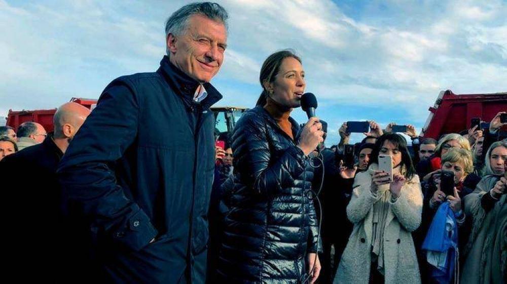 Obra pública, transparencia y críticas a la familia Kirchner: la estrategia de María Eugenia Vidal para retener la gobernación