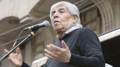 Moyano (piquetero) busca mortificar al Gobierno y a la CGT
