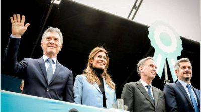 En zona de confort, Macri y Pichetto lanzaron guiños al sector militar y conservador