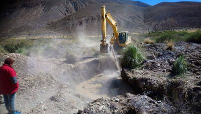 Buscan solucionar la escasez de agua potable en una amplia zona de La Poma
