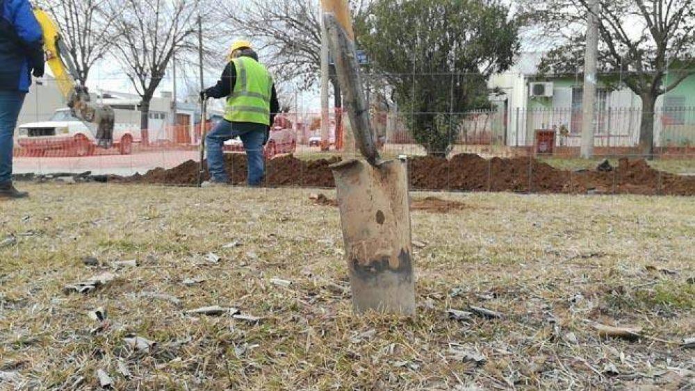 El municipio asegura que avanza la obra en el Butaló