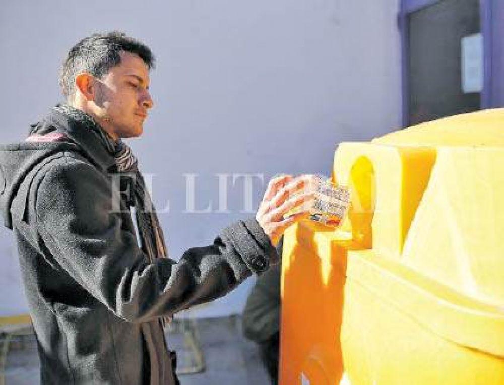 Gracias al compromiso ciudadano, se reutilizaron 4.700 kilos de basura